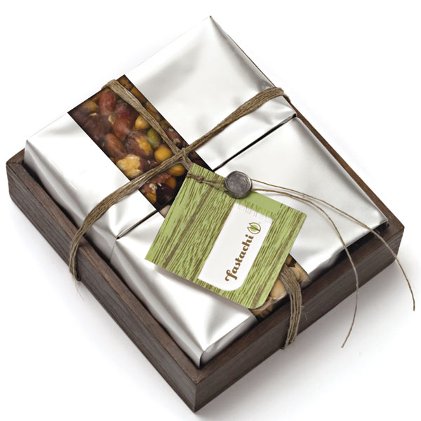 Fastachi gift tray with Global Hemp Cord